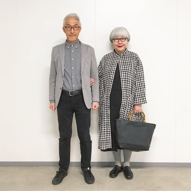 Cặp vợ chồng nổi tiếng ở tuổi U70 vì… mặc đồ đôi tuyệt đẹp - Ảnh 3.