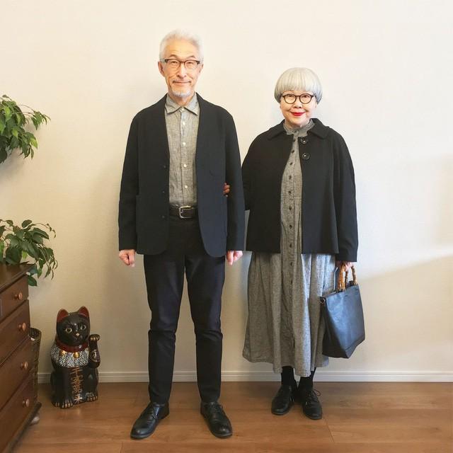 Cặp vợ chồng nổi tiếng ở tuổi U70 vì… mặc đồ đôi tuyệt đẹp - Ảnh 4.
