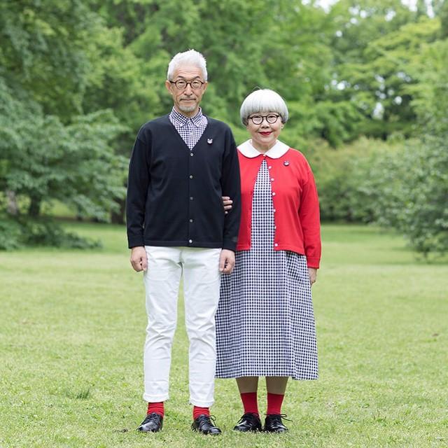 Cặp vợ chồng nổi tiếng ở tuổi U70 vì… mặc đồ đôi tuyệt đẹp - Ảnh 5.
