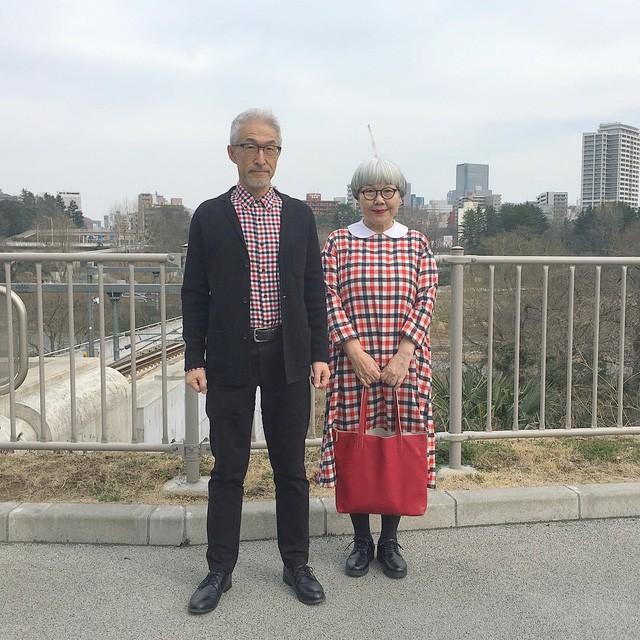 Cặp vợ chồng nổi tiếng ở tuổi U70 vì… mặc đồ đôi tuyệt đẹp - Ảnh 6.