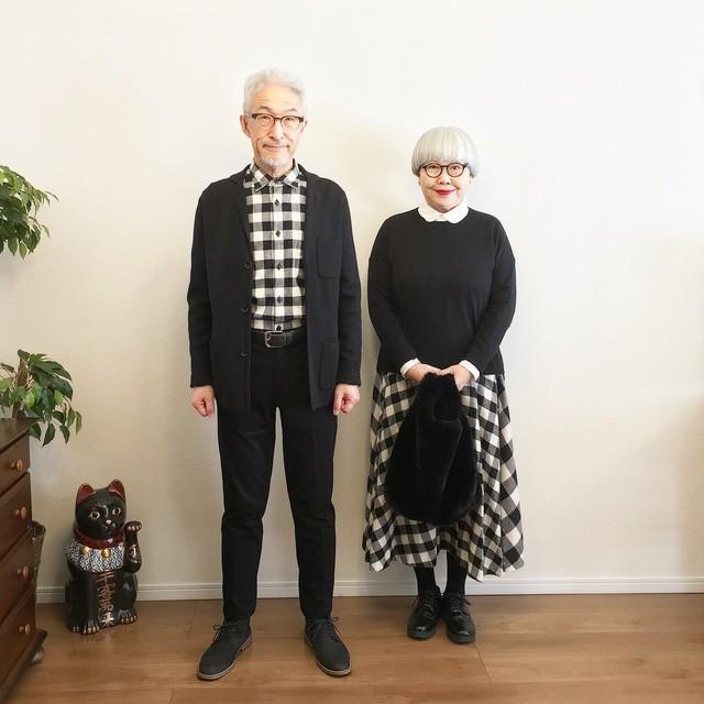 Cặp vợ chồng nổi tiếng ở tuổi U70 vì… mặc đồ đôi tuyệt đẹp - Ảnh 7.