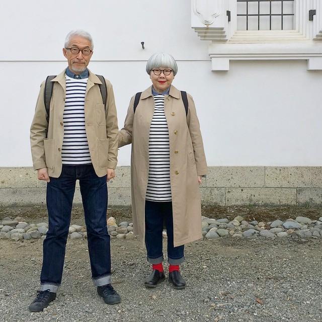 Cặp vợ chồng nổi tiếng ở tuổi U70 vì… mặc đồ đôi tuyệt đẹp - Ảnh 8.