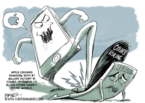 Thẩm phán Mỹ tuyên phạt Samsung phải bồi thường 539 triệu USD cho Apple - Ảnh 2.
