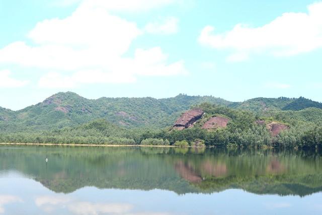 Xua cái nắng hè oi ả ở cánh đồng sen tuyệt đẹp của Quảng Nam - Ảnh 10.