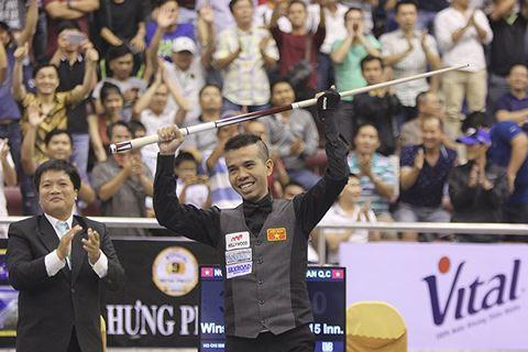 Trần Quyết Chiến lần đầu vô địch World Cup carom 3 băng - Ảnh 1.