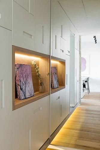 Căn hộ 67m2 trang trí tuyệt đẹp nhờ nội thất đa năng - Ảnh 7.