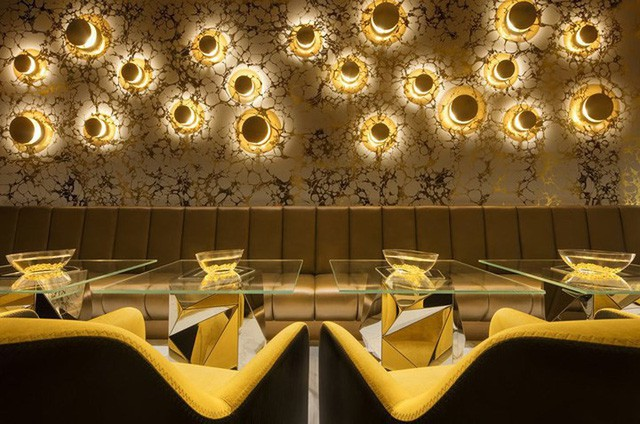 Khám phá nhà hàng chuyên dùng vàng để trang trí món ăn tại Dubai - Ảnh 12.