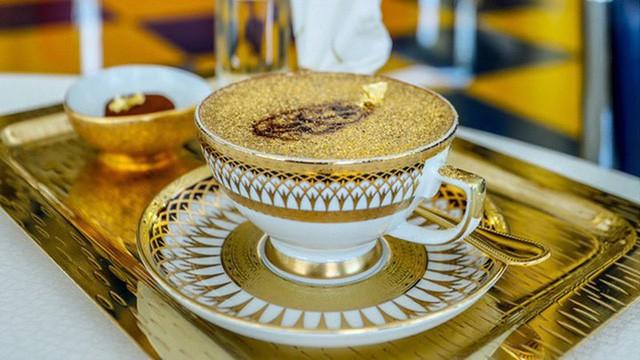 Khám phá nhà hàng chuyên dùng vàng để trang trí món ăn tại Dubai - Ảnh 13.