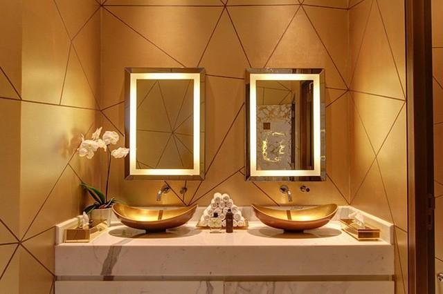 Khám phá nhà hàng chuyên dùng vàng để trang trí món ăn tại Dubai - Ảnh 14.