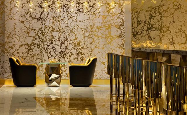 Khám phá nhà hàng chuyên dùng vàng để trang trí món ăn tại Dubai - Ảnh 15.