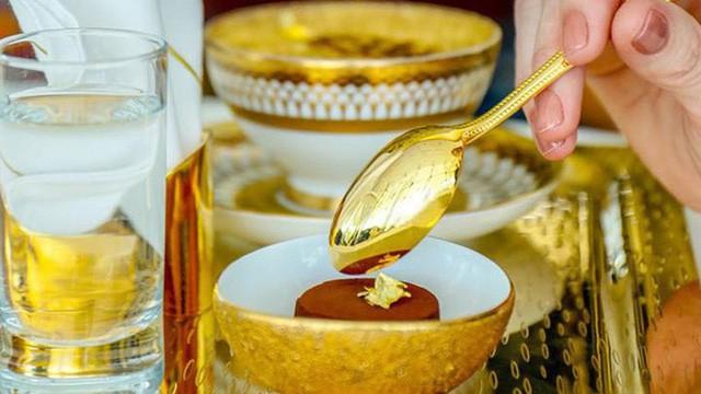 Khám phá nhà hàng chuyên dùng vàng để trang trí món ăn tại Dubai - Ảnh 10.