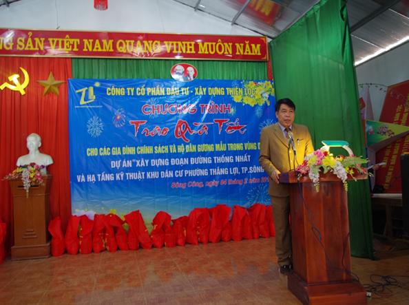 Công ty cổ phần đầu tư – xây dựng Thiên Lộc: Làm giàu vì cộng đồng - Ảnh 1.