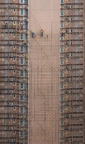 Bộ ảnh chụp cảnh sinh hoạt chân thực trên những mái nhà cao tầng - Ảnh 3.