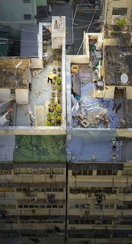 Bộ ảnh chụp cảnh sinh hoạt chân thực trên những mái nhà cao tầng - Ảnh 4.