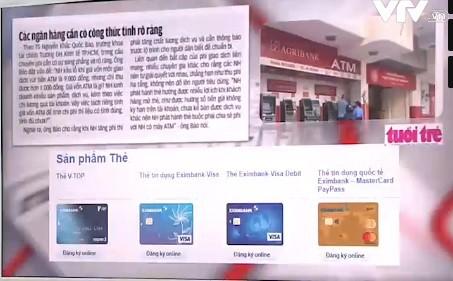 Tăng phí rút tiền ATM: Các ngân hàng cần có công thức tính rõ ràng - Ảnh 1.
