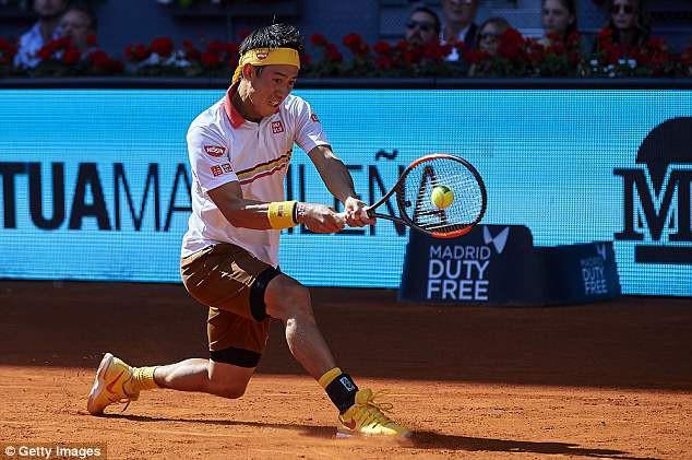 Đánh bại Nishikori, Djokovic khởi đầu thuận lợi tại Madrid mở rộng 2018 - Ảnh 1.