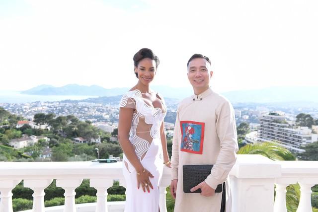 NTK Đỗ Trịnh Hoài Nam gặp gỡ các minh tinh quốc tế tại LHP Cannes - Ảnh 2.