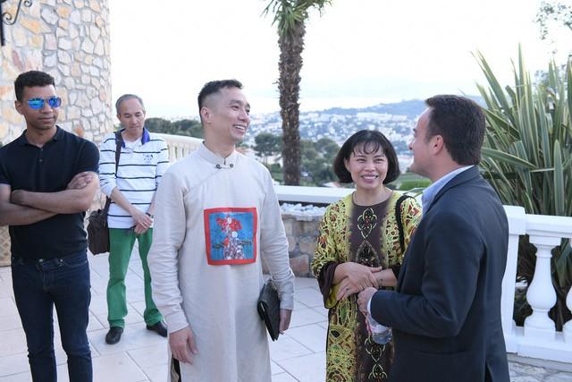 NTK Đỗ Trịnh Hoài Nam gặp gỡ các minh tinh quốc tế tại LHP Cannes - Ảnh 3.