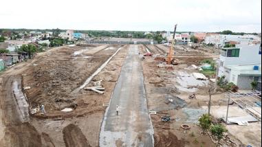 Thắng Lợi Riverside Market đẩy nhanh tiến độ hạ tầng - Ảnh 4.