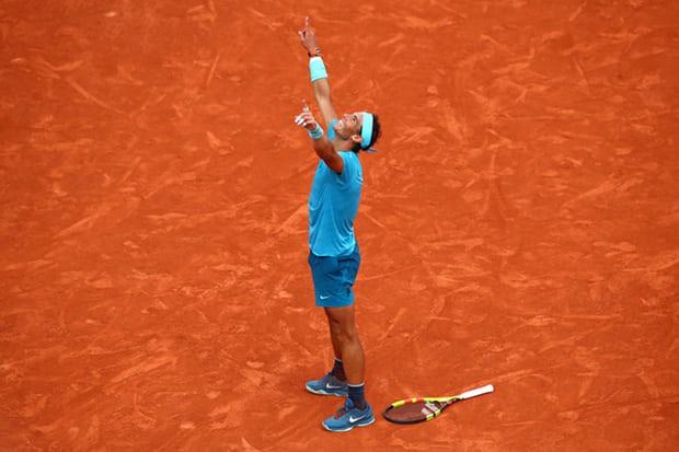 Pháp mở rộng 2018: Thắng ấn tượng Dominic Thiem, Nadal vô địch đầy thuyết phục - Ảnh 3.