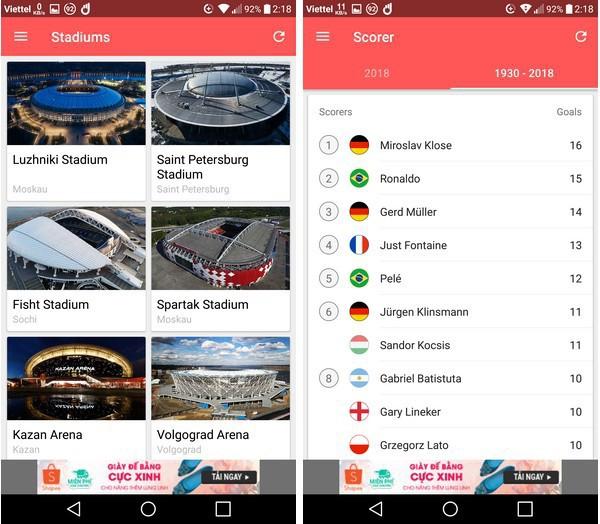Lịch thi đấu thông minh - Ứng dụng không thể thiếu trên smartphone trong mùa World Cup 2018 - Ảnh 7.