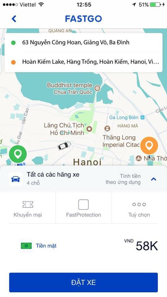 Công ty Việt ra mắt ứng dụng gọi xe FastGo cạnh tranh với Grab - Ảnh 3.