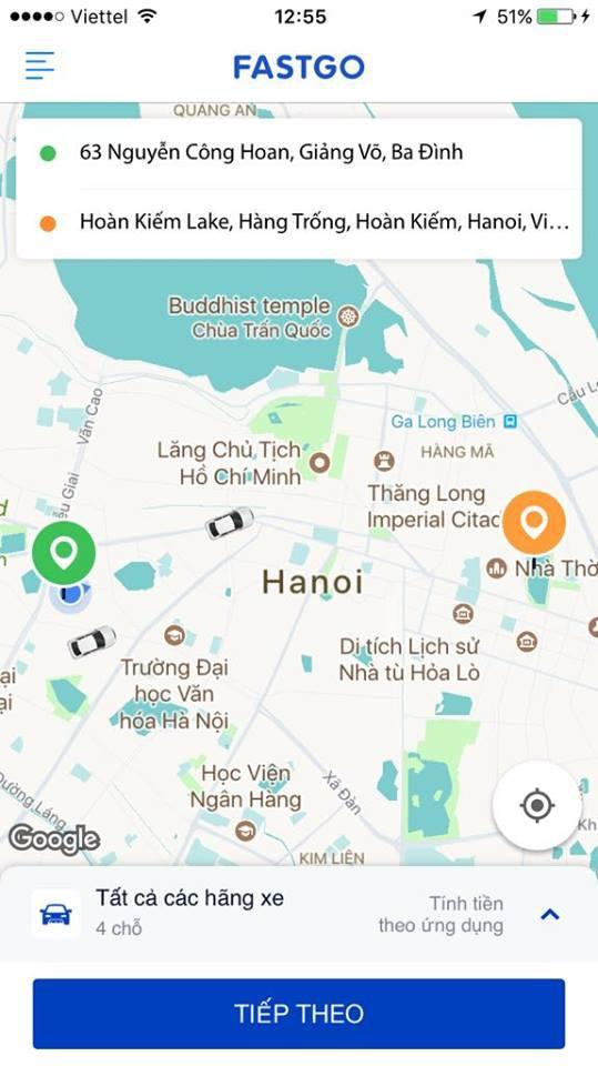 Công ty Việt ra mắt ứng dụng gọi xe FastGo cạnh tranh với Grab - Ảnh 2.