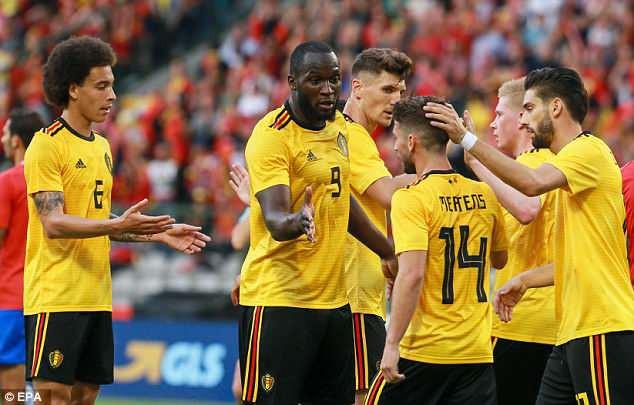 Giao hữu trước World Cup 2018: ĐT Bỉ giành chiến thắng ấn tượng trước Costa Rica - Ảnh 2.