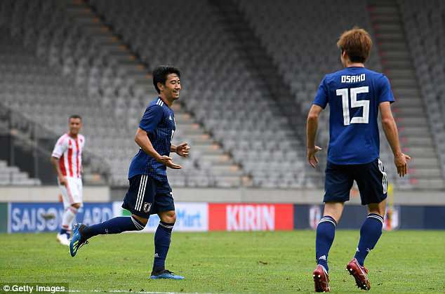 Giao hữu quốc tế: Ba Lan 4-0 Lít-va, Paraguay 2-4 Nhật Bản - Ảnh 2.