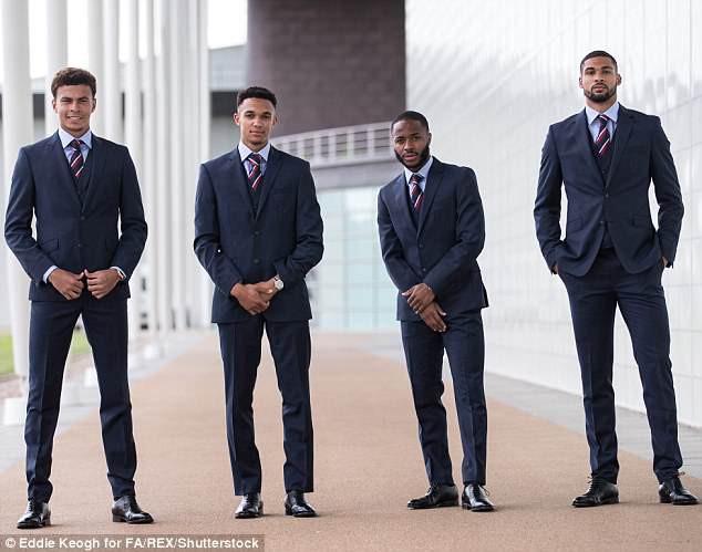 Tuyển Anh bảnh bao, sẵn sàng xung trận tại World Cup 2018 - Ảnh 8.
