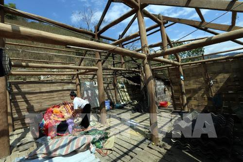 Mưa lớn, lốc xoáy gây nhiều thiệt hại tại Gia Lai và Quảng Bình - Ảnh 2.