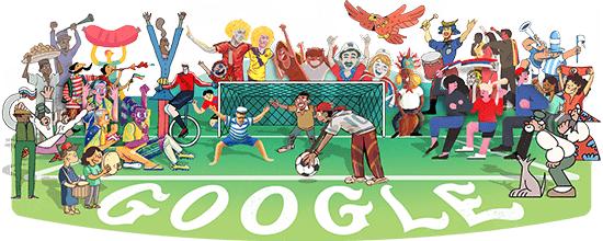 Hưởng ứng World Cup 2018, Google thay ảnh đại diện công cụ tìm kiếm - ảnh 1