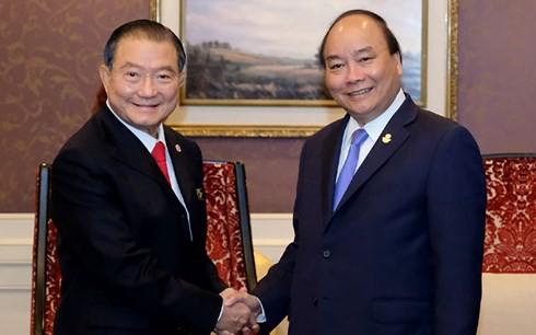 Thủ tướng gặp lãnh đạo các nước và Tổng Thư ký ASEAN - Ảnh 2.