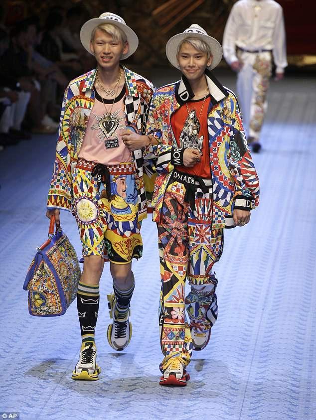 Dàn mẫu nữ U50 hội tụ trong show dành cho nam giới của Dolce & Gabbana - Ảnh 7.