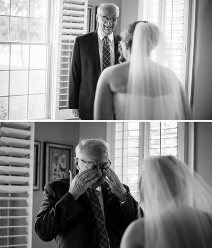 Ai cũng phải rơi nước mắt vì tình cha con trong ngày cưới của con gái - Ảnh 13.