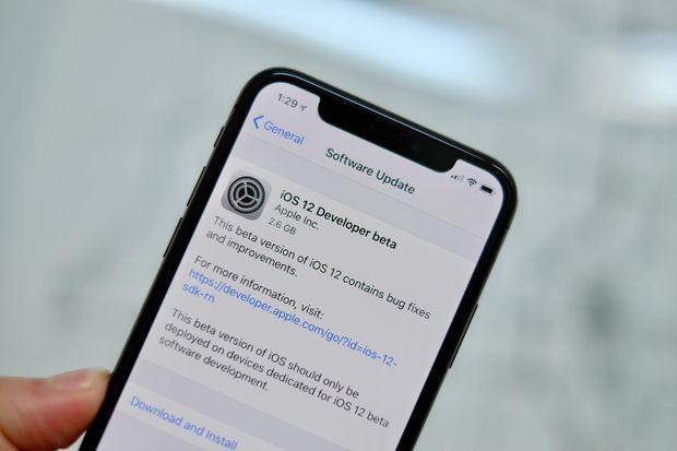Bản beta của iOS 12 đầu tiên chính thức ra mắt - Ảnh 1.