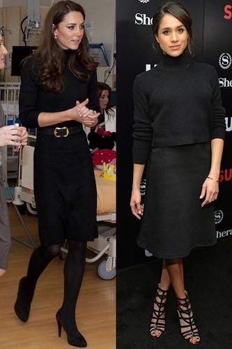"""Kate Middleton và Meghan Markle """"đụng hàng"""" trang phục: Ai đẹp hơn ai? - Ảnh 11."""