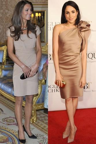 """Kate Middleton và Meghan Markle """"đụng hàng"""" trang phục: Ai đẹp hơn ai? - Ảnh 12."""