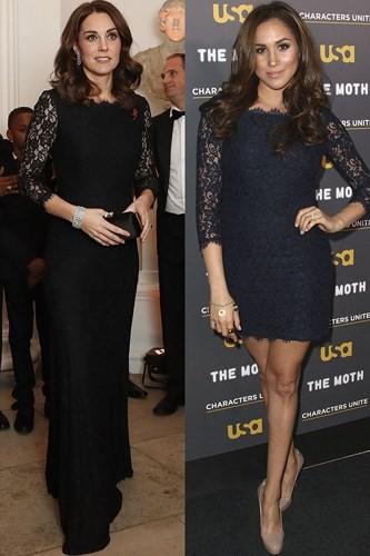 """Kate Middleton và Meghan Markle """"đụng hàng"""" trang phục: Ai đẹp hơn ai? - Ảnh 6."""