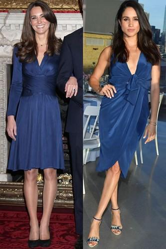 """Kate Middleton và Meghan Markle """"đụng hàng"""" trang phục: Ai đẹp hơn ai? - Ảnh 8."""
