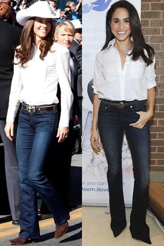 """Kate Middleton và Meghan Markle """"đụng hàng"""" trang phục: Ai đẹp hơn ai? - Ảnh 9."""