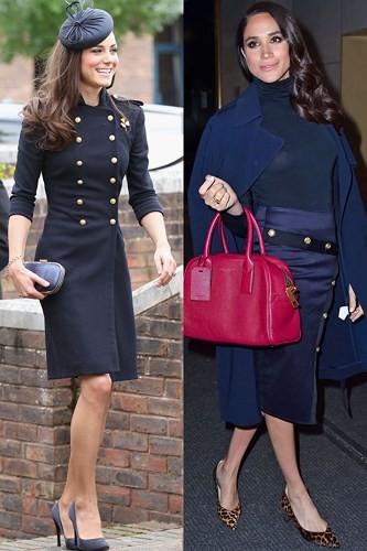 """Kate Middleton và Meghan Markle """"đụng hàng"""" trang phục: Ai đẹp hơn ai? - Ảnh 10."""