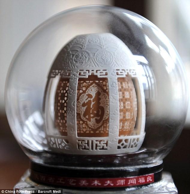 Biến vỏ trứng thành tác phẩm điêu khắc tinh xảo - Ảnh 5.