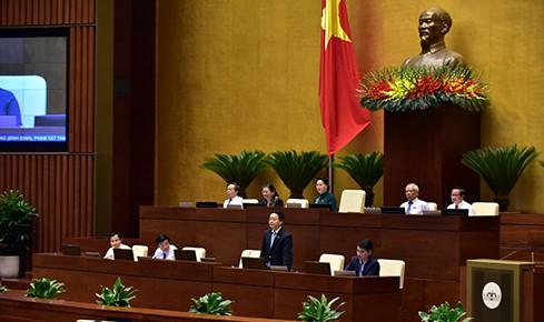 TRỰC TIẾP: Bộ trưởng Bộ Tài nguyên và Môi trường Trần Hồng Hà trả lời chất vấn - Ảnh 3.