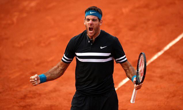 Thắng kịch tính Cilic, Del Potro hẹn Nadal tại bán kết Pháp mở rộng - Ảnh 2.