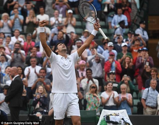 Vòng 4 đơn nam Wimbledon 2018: Federer, Nadal và Djokovic cùng giành chiến thắng - Ảnh 3.