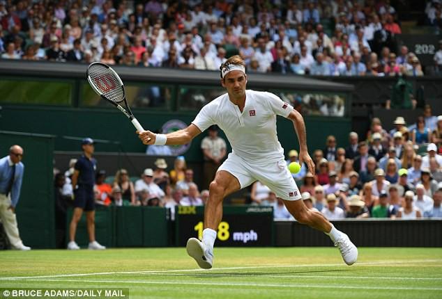 Vòng 4 đơn nam Wimbledon 2018: Federer, Nadal và Djokovic cùng giành chiến thắng - Ảnh 1.