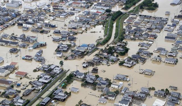 Mưa lũ nghiêm trọng tại Nhật Bản khiến 127 người thiệt mạng - Ảnh 3.