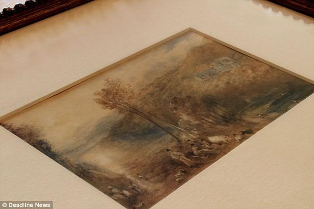 Sửng sốt bức tranh màu nước tăng giá… 2.300 lần - Ảnh 1.