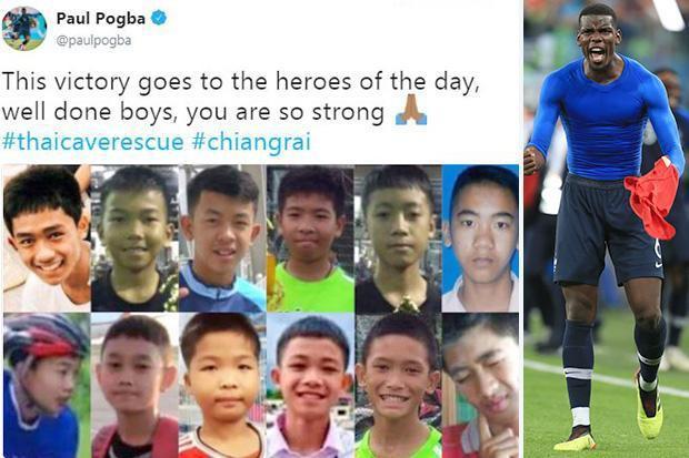 Vào chung kết World Cup, Pogba vinh danh đội bóng Lợn hoang - Ảnh 1.